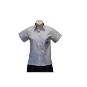 Brae S/S Collar insert Blouse