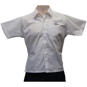 Dromana White S/S Shirt W/Logo