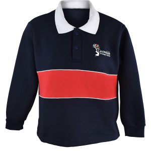 Grovedale P/S Fleecy Rugby Top